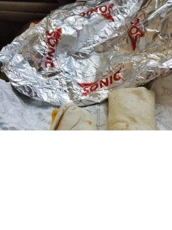 Yukon, OK: ceesy burrito and sausage and egg burrio