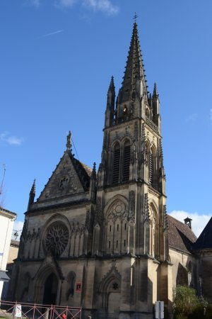 Cadillac, Frankreich: L'Eglise