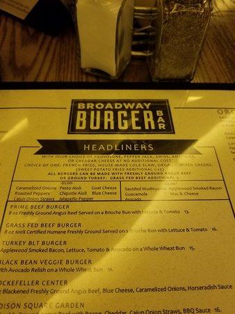 Tropicana Atlantic City Restaurants Burger