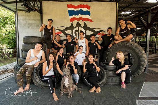 Bangarang Muay Thai and Fitness Camp Chiang Mai: Meet the crew that make it happen (Chris and Luka not in photo)