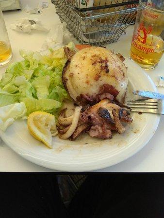 Un almuerzo exquisito