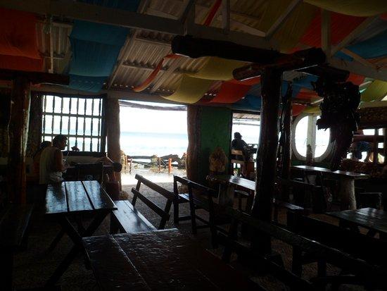 Punta Sur: Interior del restó