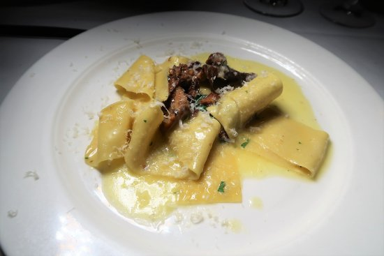 Babbo: Pappardelle with Chanterelles and Thyme