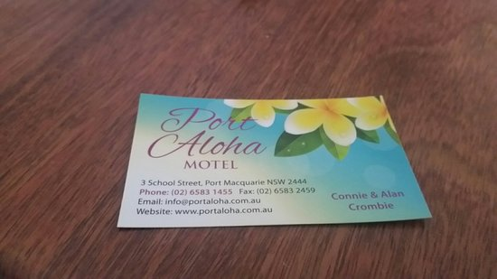 Port Aloha Motel Port Macquarie Review