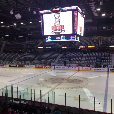 Brandt Centre Great For Hockey Review Of Evraz Place Regina