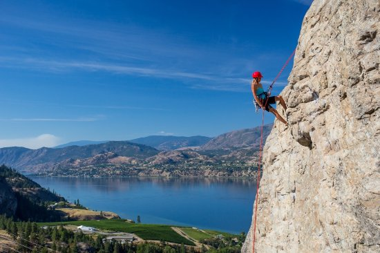 Penticton, Canada: Skaha Rock Adventures is the Okanagan's premier rock climbing and mountaineering school since 19