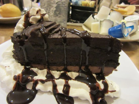 Lancaster, NY: Decadent but delicious chocolate cake!