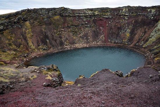 Route du Cercle d'Or : Kerið