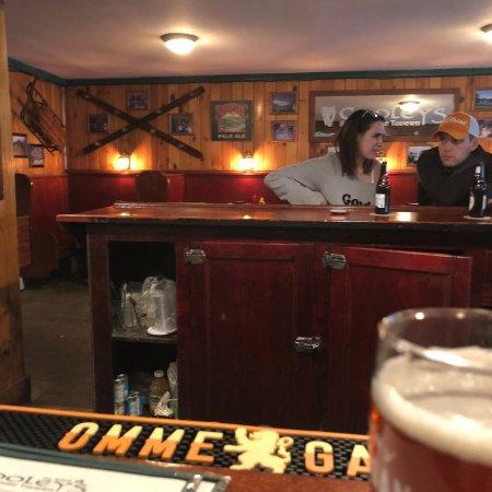 Friendly Irish pub feel