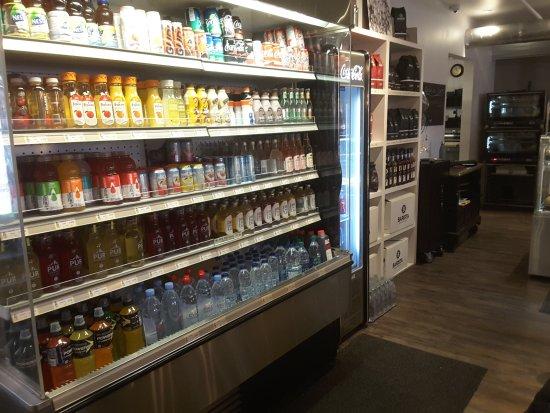 Sainte-Therese, Kanada: Comptoir a jus