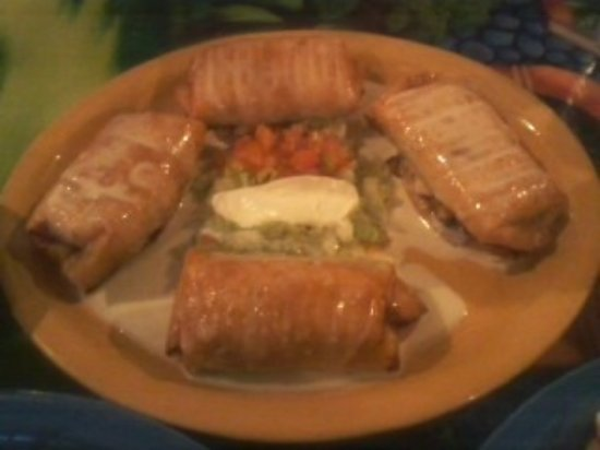 Seymour, WI: The Four Chimichanga Special