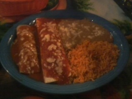 Seymour, WI: One Part of The Mexican Special Dinner