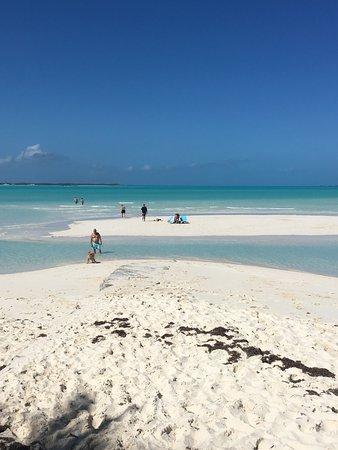 Treasure Cay, Great Abaco Island: sand bar