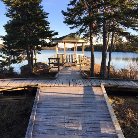 Lewisporte, Канада: Woolfreys Pond Trail and Campground
