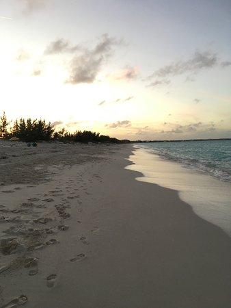 Treasure Cay, Great Abaco Island: beach at Coco's Beach Bar