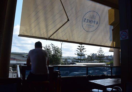 4 Pines Brew Pub: View