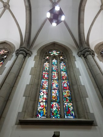 Catedral da Sé de São Paulo : Vitral interno