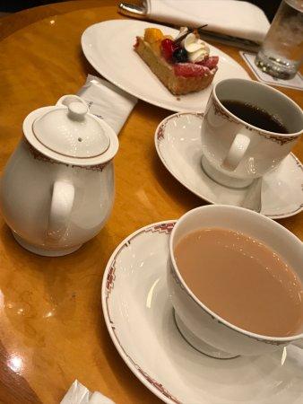 お茶セット(フルーツタルト)