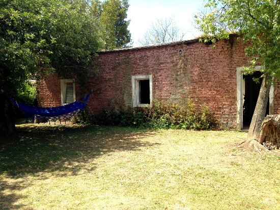 Villa Ruiz, الأرجنتين: hamaca paraguaya en el jardin