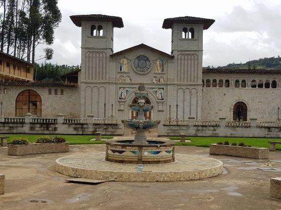 Santuario Virgen del Rosario張圖片
