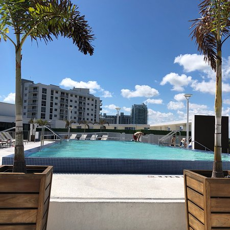 Residence Inn By Marriott Miami Beach South Rooftop Pool