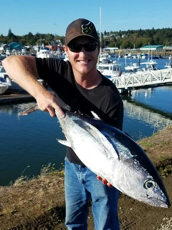 Olympic Peninsula Guide Service: eating good tonight!