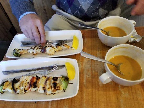 Saegreifinn - The Sea Baron: Lobster soup is really good