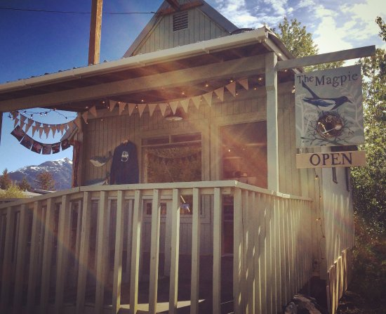The Magpie Gallery, Haines Alaska.  Just down from the visitors center.
