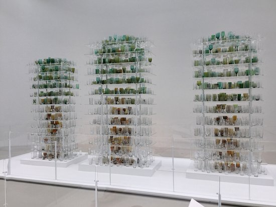 "Corning, NY: A ""forest"" of glassware"