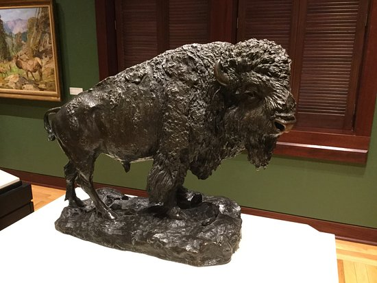 Corning, Estado de Nueva York: One of many bronzes on display