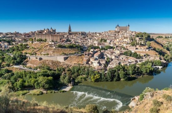 Toledo and Segovia from Madrid with...