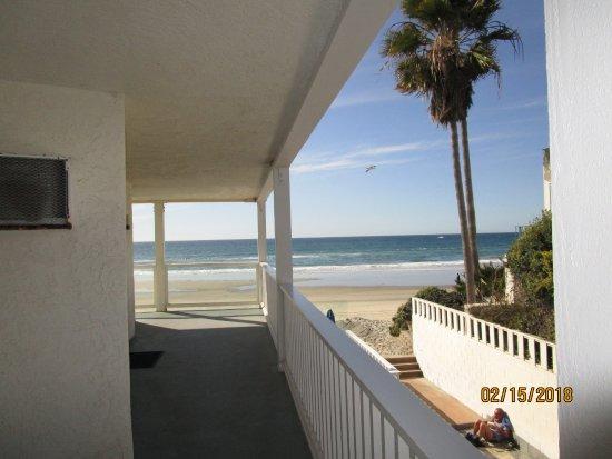 Del Mar, CA: View from front door - amazing!