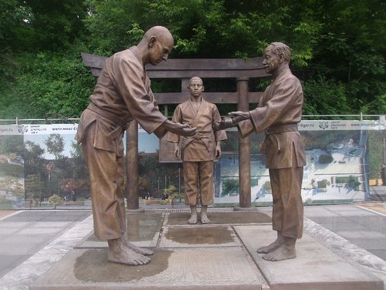 Memorial to Vasiliy Oshhepkov and His Japanese Teachers