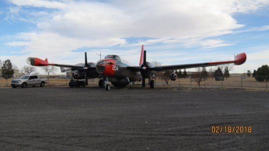 Pueblo Weisbrod Aircraft Museum : Display aircraft