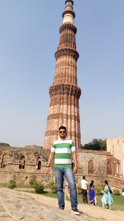 "Dhampus, Νεπάλ: Historical place known as ""Qutubminar"" located in Delhi."