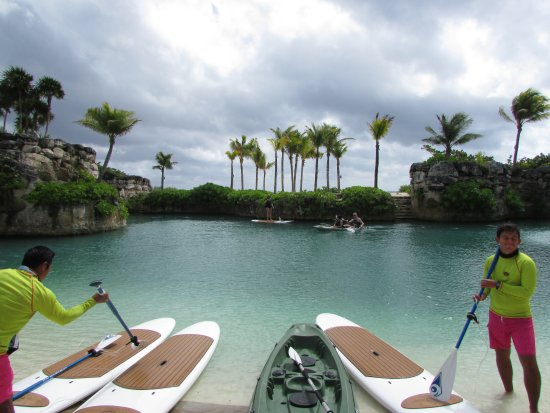 Paddleboarding & Kayaking - Picture of Hotel Xcaret Mexico