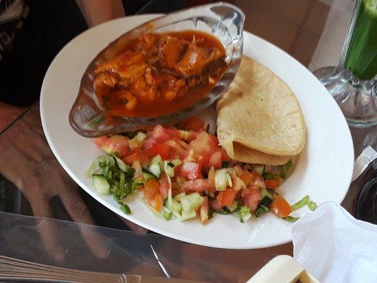 La Virgen, Costa Rica: lunch