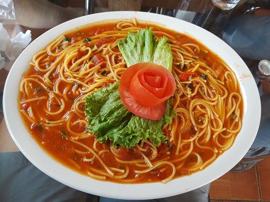 La Virgen, Costa Rica: My spaghetti