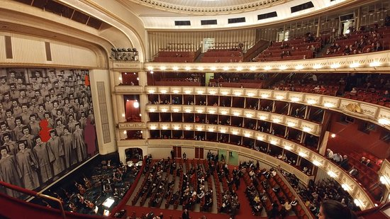State Opera House : View from the left Balcony