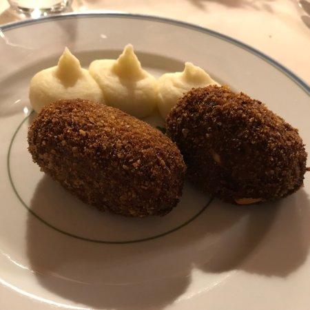 Artimino, Italia: Solo per il martedì grasso: polpette di carnevale!!!