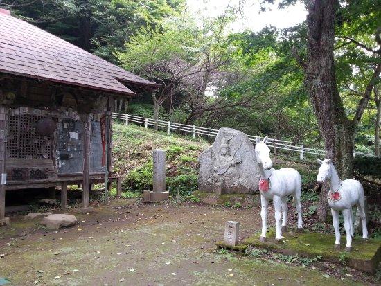 Ibaraki Prefecture, Japan: 日輪寺境内