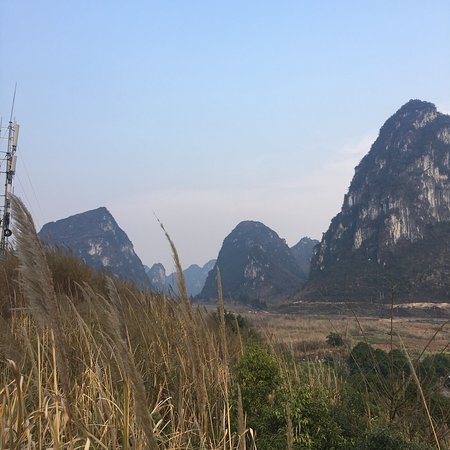Yizhou, China: Mingqin Mountain Scenic Resort