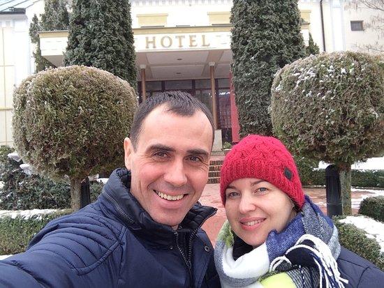 Beladice, Slowakei: my s manželkou :)