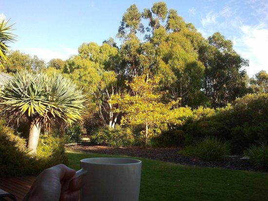 Yallingup Luxury Retreat: view from the deck/veranda