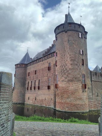 Muiden, Hollanda: Château
