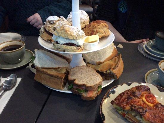 Longframlington, UK: Afternoon Tea (cakes added later)