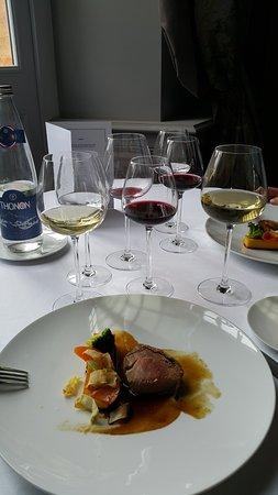 Le Verdurier: et voila notre table avant le plat un délire gustatif