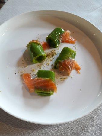 paccheri con salmone
