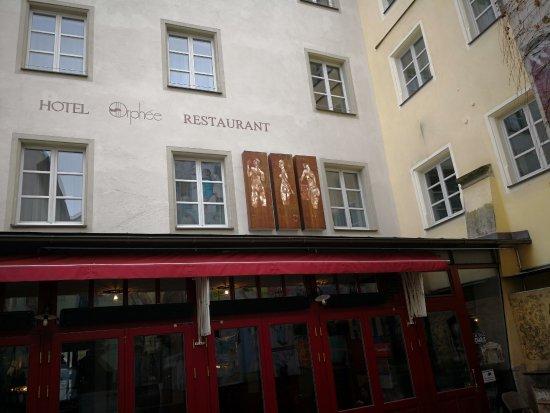 Hotel Orphée Grosses Haus Foto