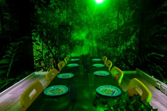 Jump In Trampoline Park: Jungle Jam Party Room